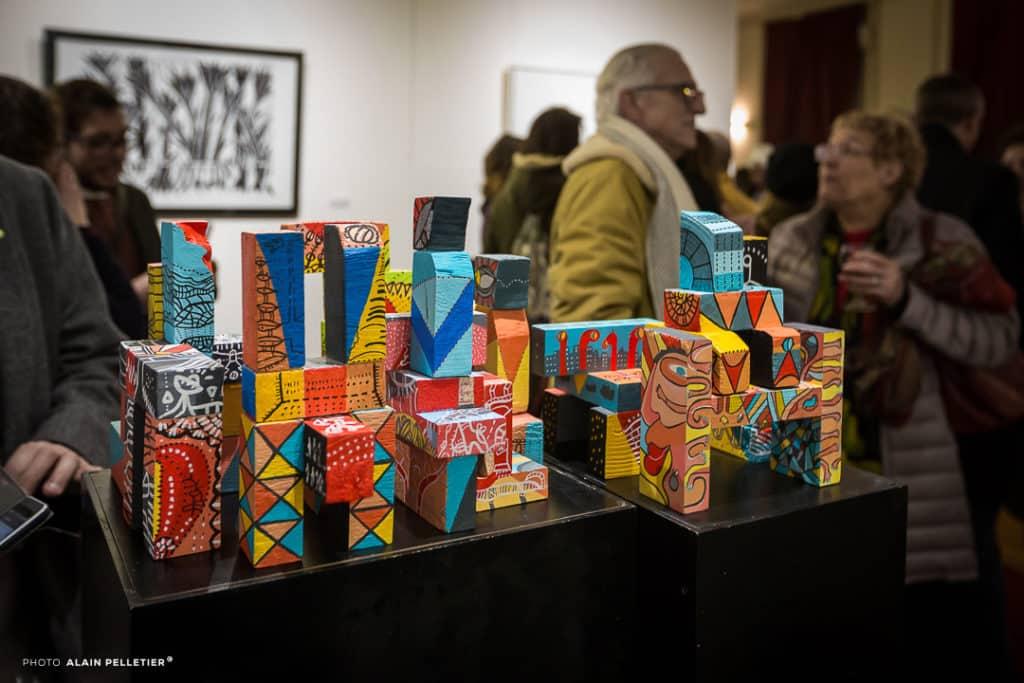 Exposition MACLA 2018 Détail de l'oeuvre d'Andrea Ho