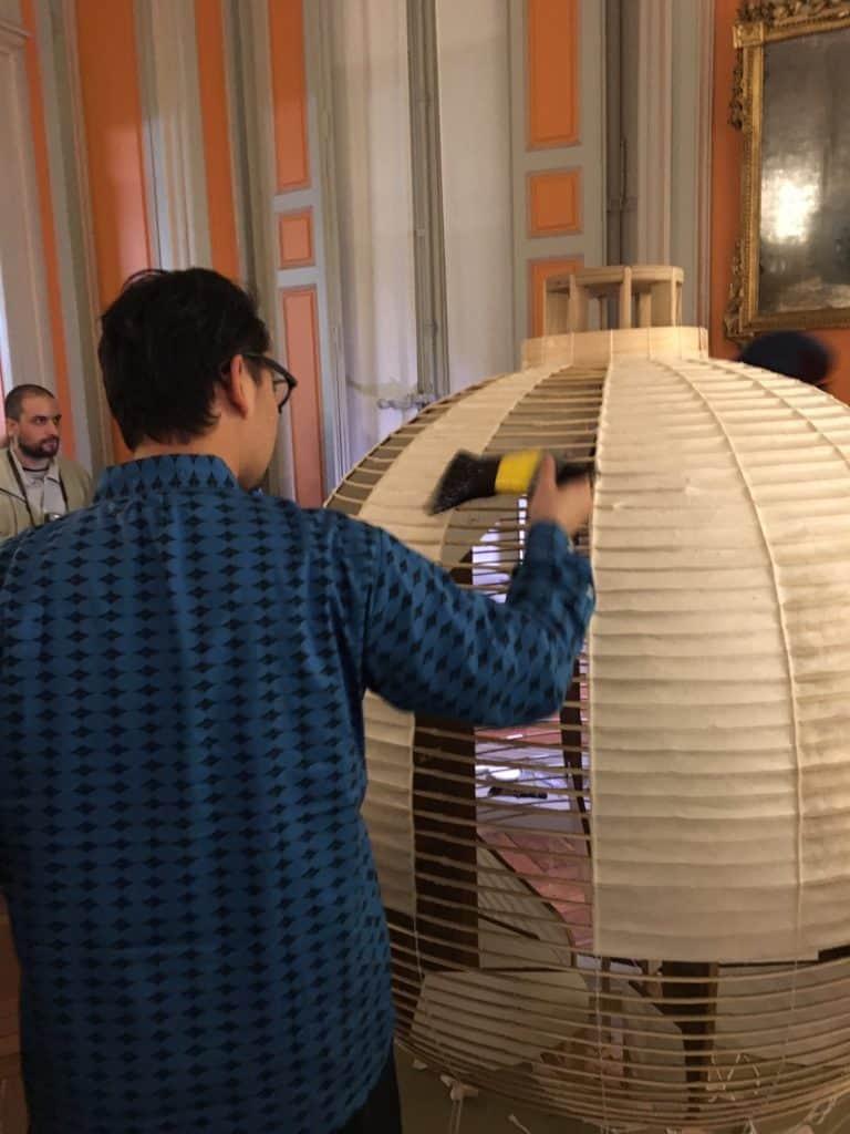fabrication d'une lanterne