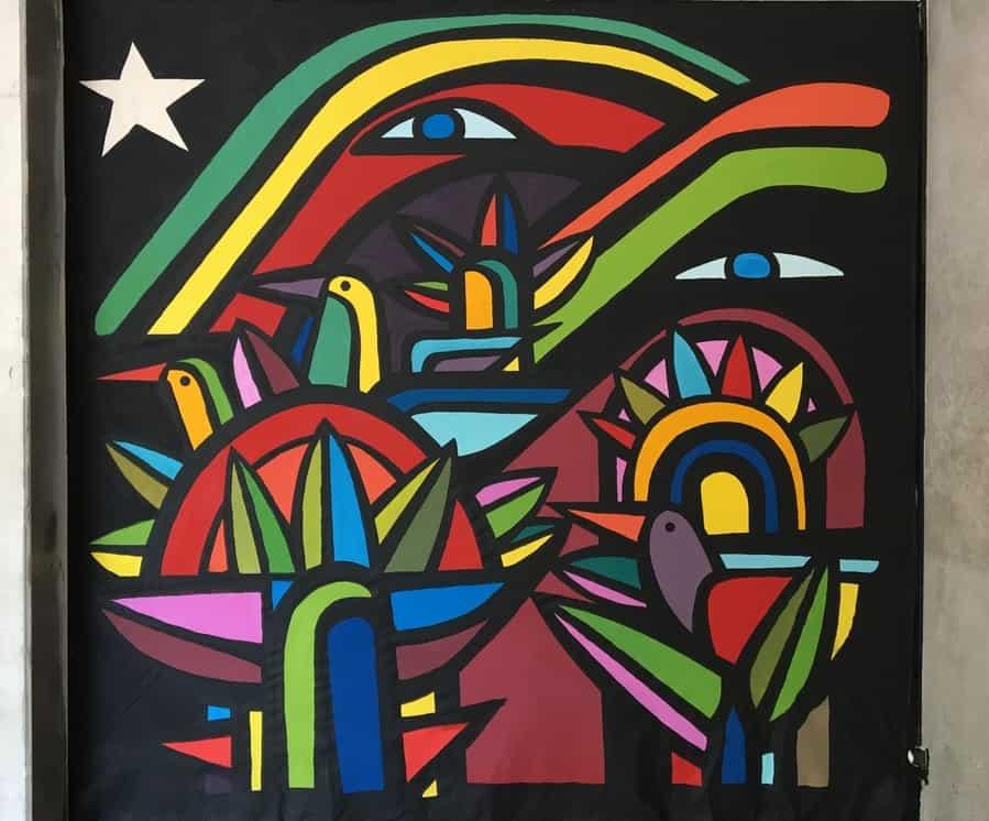 Mono Gonzalez Art urbain