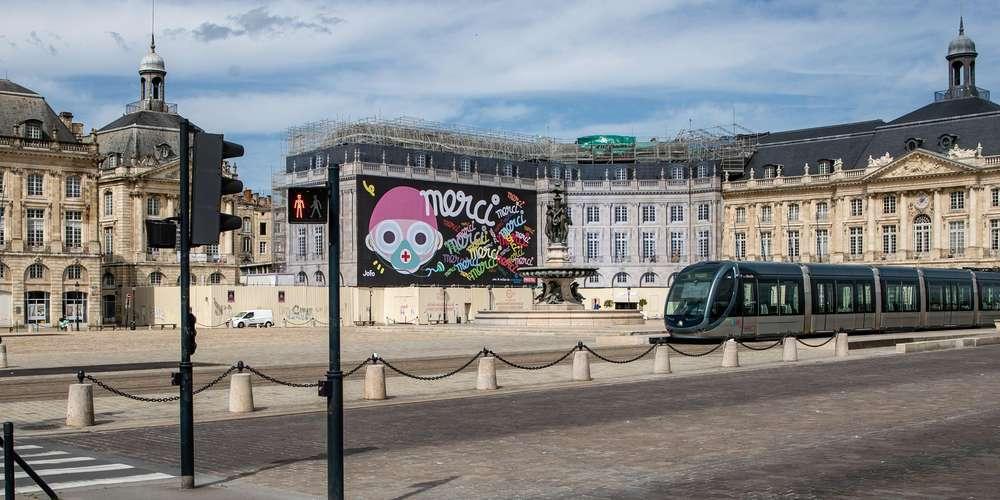 Murale de Toto pendant le confinement
